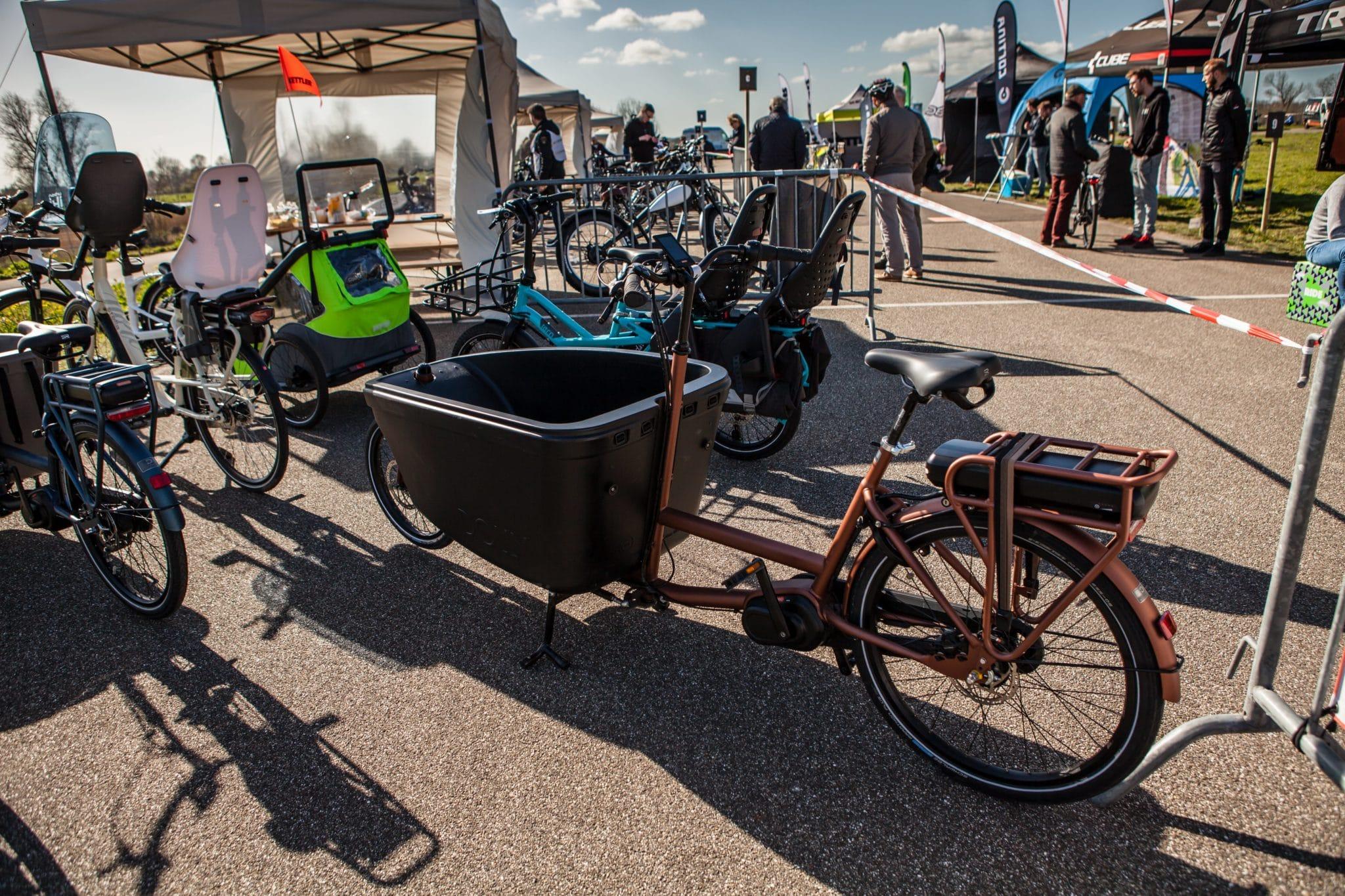 Elektrische Family Bikes AD Fietstest 2019